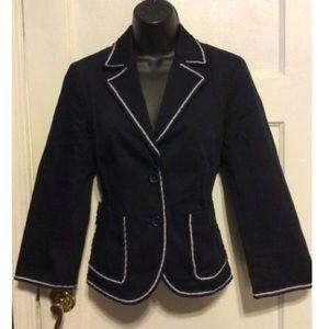 J. Crew Jackets & Coats - J. Crew Navy Blue Blazer